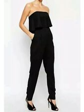 BNWT💕Coast 💕 Size 6 Vander Black Bandeau Jumpsuit, All In One, Holiday New XS