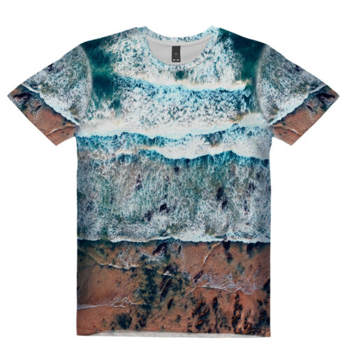 NEW THE DANCING WAVES SUB T-SHIRT TANK TOP UK REG FIT /& SIZE