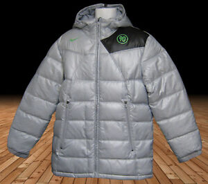 a2d6a82cbb9e New NIKE Mens Total 90 T90 Bench Coat Puffa Jacket Silver Grey M