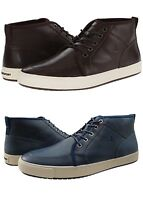 Rockport Mens Path To Greatness Mid Chocolate Or Navy Lace Up Casual Shoes Boots
