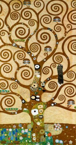 Gustav Klimt Stoclet Frieze Tree of Life  Giclee Canvas Print