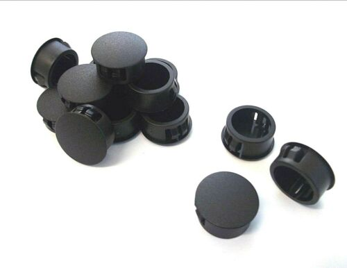 Pack of 10 20.6mm Caps Round end *Top Quality! Domed blanking grommets