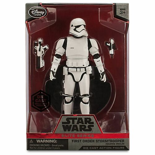 Star Wars Disney Store First Order Stormtrooper Elite Series Die Cast 2015 NEW