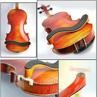 Maple Wood Violin Shoulder Rest Fully Adjustable Support for Violin 3/4 4/4
