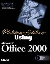 Platinum Edition Using Microsoft Office 2000 with CDROM (Using ... (Que))