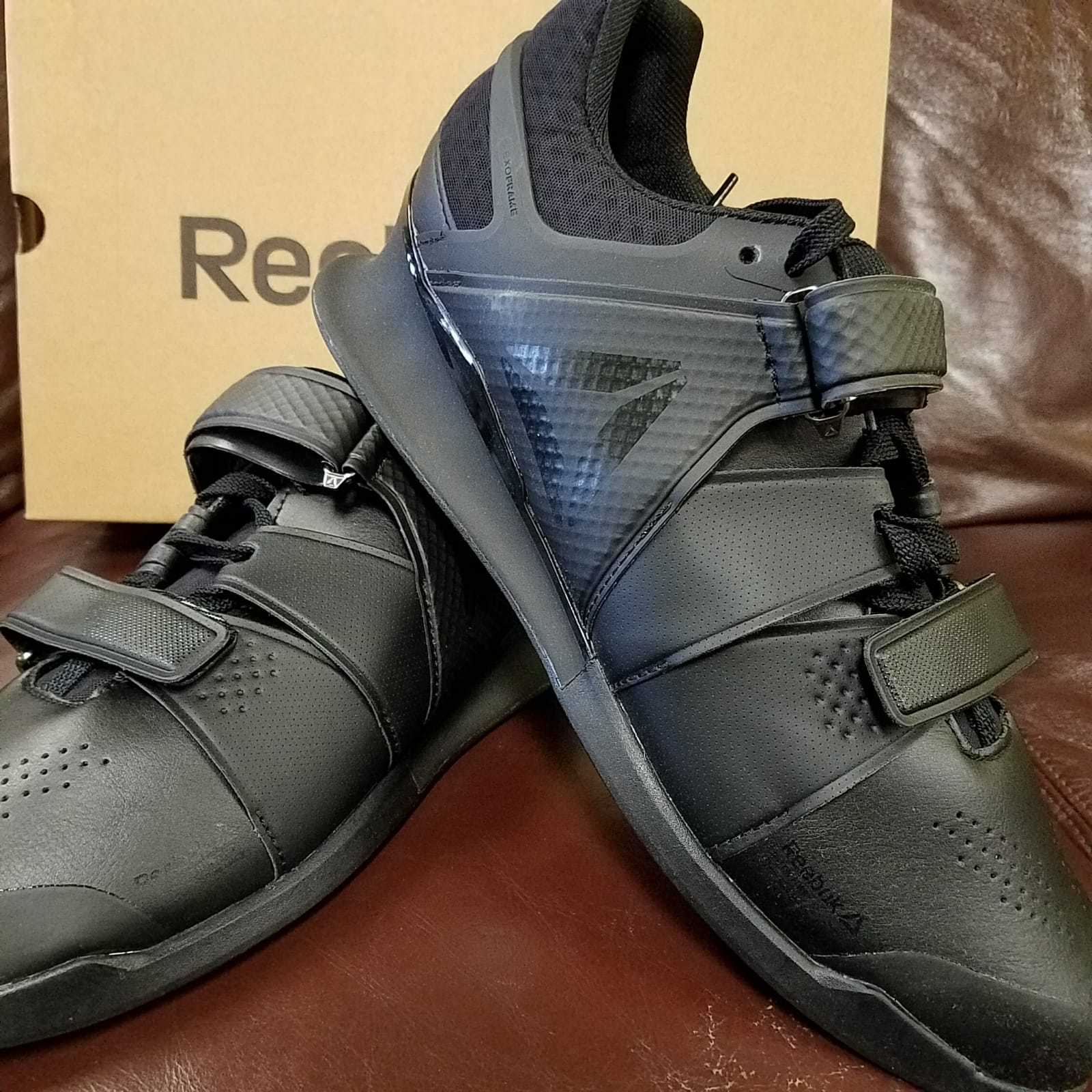 BRAND NEW IN IN IN BOX  REEBOK LEGACY LIFTER Uomo WEIGHTLIFTING scarpe nero nero 4607 4c02b6