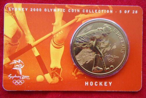 $5 UNC RAM Coin HOCKEY 5//28 Sydney 2000 Olympic Coin Collection