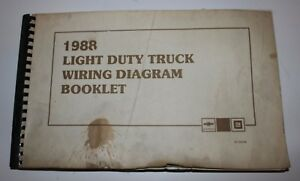 [FPER_4992]  1988 Light Duty Truck Wiring Diagram Booklet GM Chevrolet ST-350-88 | eBay | Gm 350 Wiring Diagram |  | eBay