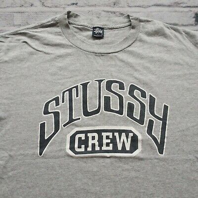 Vintage Single Stitch Stussy Logo Tee Large B205