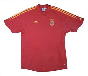 SPAGNA 2004-06 Authentic Home Shirt (eccellente) XL soccer jersey