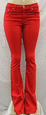 NWT WOMEN/'S RAG /& BONE PANTS ELEPHANT BELL RED STY#W1523T240 SIZE:25-31