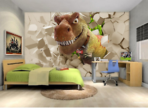 3D Tyrannosaurus 777 Wall Paper Murals Wall Print Wall Wallpaper Mural AU Kyra