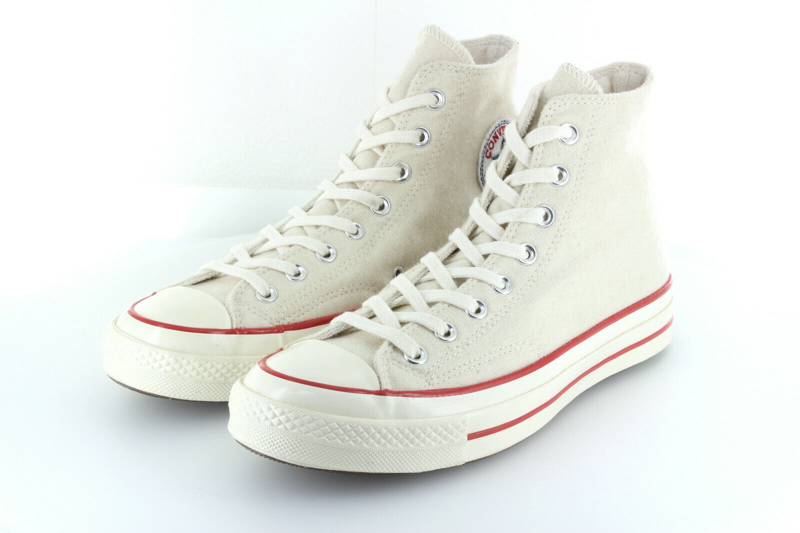 Converse Chuck Taylor AS Hi 70s White Red Wool Limited Edition 42,5 43,5 US9
