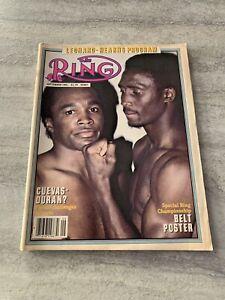 The-Ring-Boxing-Magazine-September-1981-Loenard-Hearns-Belt-Poster