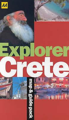 """AS NEW"" Explorer Crete (AA World Travel Guides), Somerville, Christopher, Book"