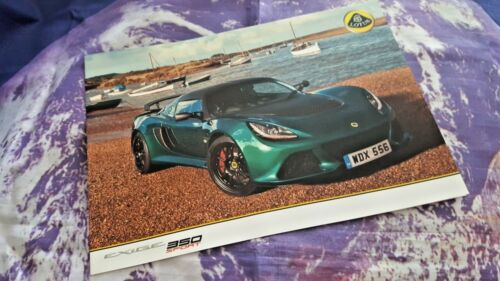 4 sides Lotus Exige 350 Sport Sales Sheet