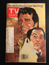 1977 TV Guide August 20-26 James Garner & Joe Santos on Front Cover