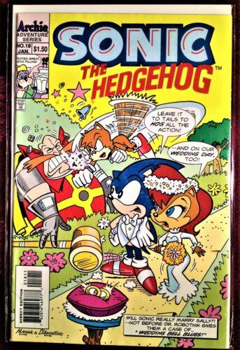 SONIC The HEDGEHOG Comic Book 18 January 1995 PRINCESS SALLY Bagged Boarded MINT