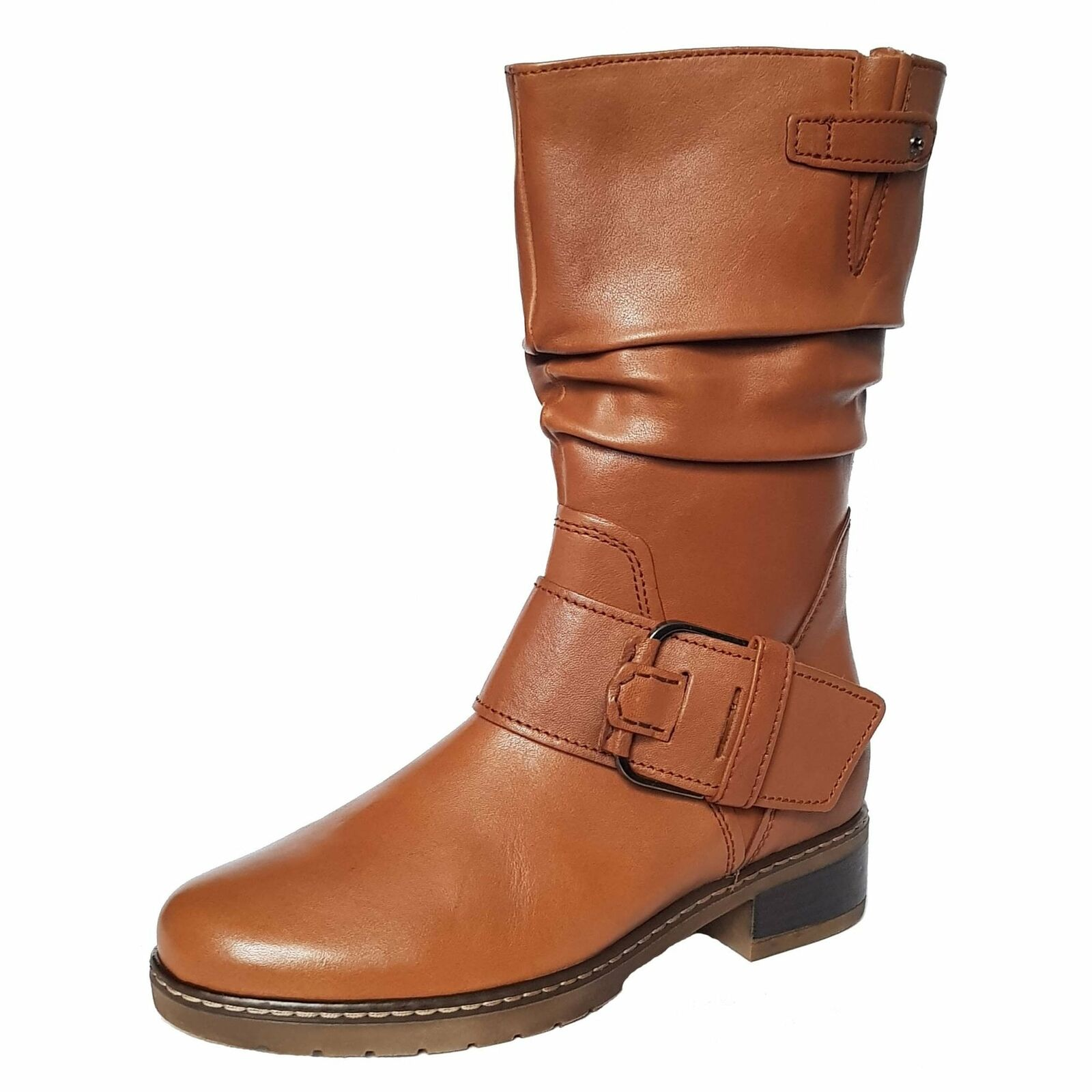 Leather 32.727.60 Diane Gabor Ankle Tan Stiefel