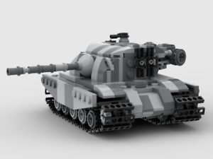 Custom LEGO Tank MOC INSTRUCTIONS ONLY for M117A2 Grizzly Heavy Tank
