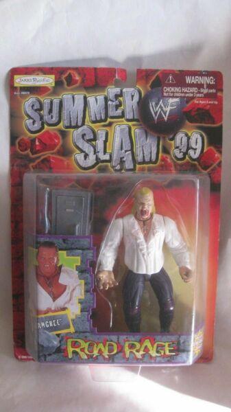 WWF Summer Slam 99 K-B Toys Exclusive The Rock Action Figure Jakks 1999 NEW t643