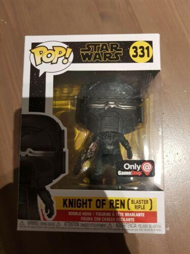 Funko POP Knight of Ren #331 Star Wars GameStop exclusivement