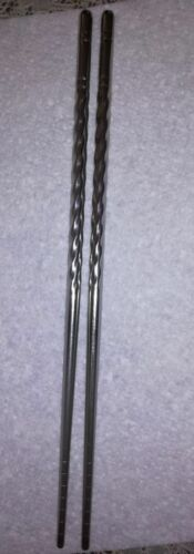 4 or 5 pairs of stainless steel chopsticks 3 1 2
