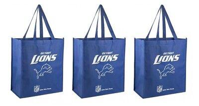Go Green NEW 3 Philadelphia Eagles Reusable Shopping Grocery Tote Gift Bags