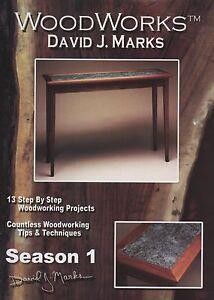 Details About David J Marks Woodworks Season 1 Dvd Woodworking Furniture Instruction Diy Video