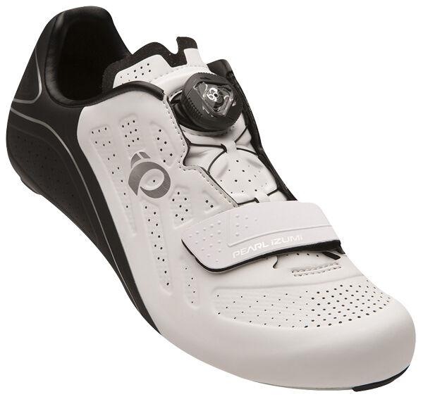 Pearl Izumi Donna Elite Strada v5 Boa autobonio Ciclismo Sautope BiancheNero 37.5