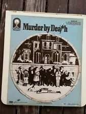 Neil Simon's MURDER by DEATH Video Disc CED Pre-owned PG