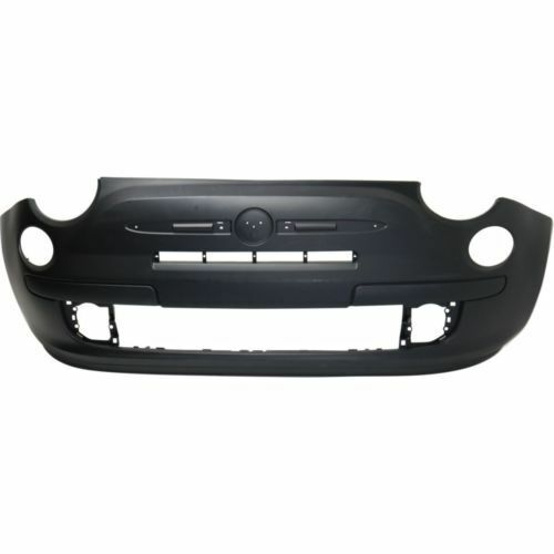 Plastic Primed CAPA Front Bumper Cover For Fiat 500 12-16