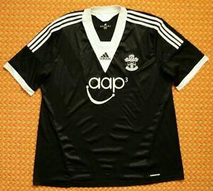 2013 2014 Southampton Fc Away Black Football Shirt By Adidas Mens 3xl Ebay