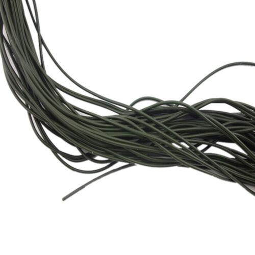 Braun Karpfen XJ Grün 3x1 Meter Karpfenangeln Silikon Rig Ärmel Schwarz
