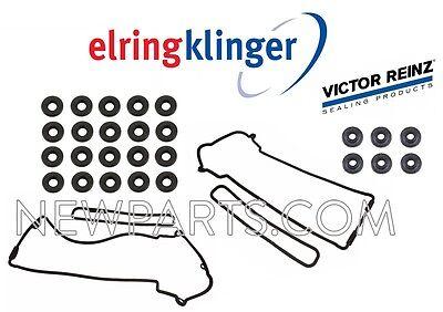 For BMW E39 M5 E52 Z8 Valve Cover Gasket Set+20 Seals Cylinder Left Right