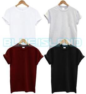 5-paquet-gildan-heavy-cotton-t-shirt-plain-mens-womans-workwear-casual-couleurs-nouveau