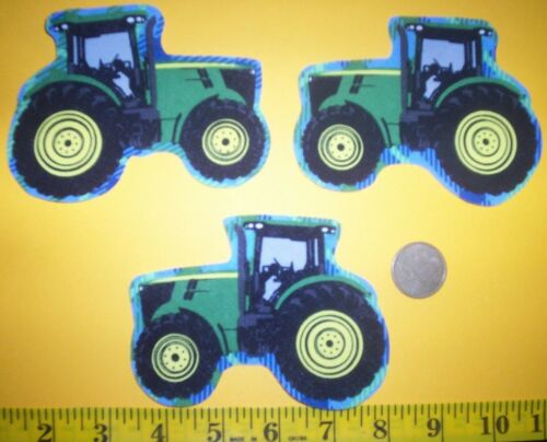 Cool Big John Deere Tractors IRON-ONS FABRIC APPLIQUES IRON-ONS New