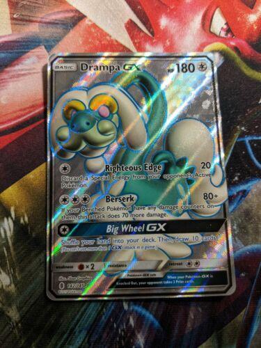 Drampa GX 142//145 Pokemon Card English Standard Size Near Mint