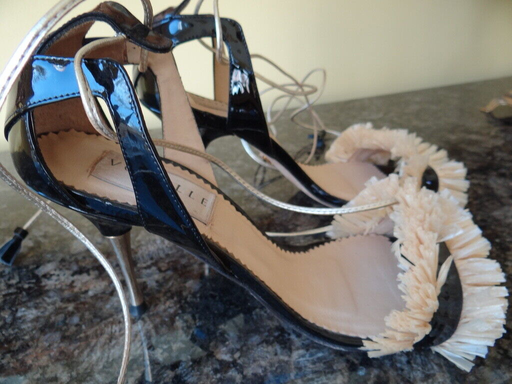 Vouelle Paris shoes shoes shoes Open Toe with Ankle Straps US Size 10 0c0e05
