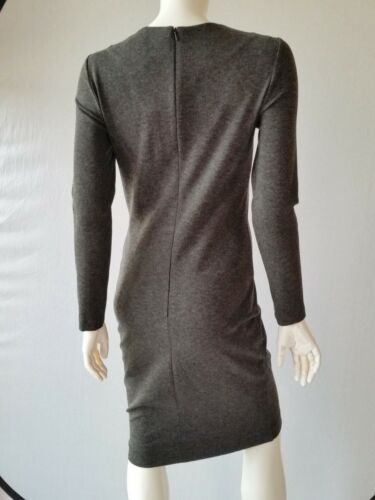 uk6 40 12 Mottled nouveau Robe 34 Hallhuber Stretch Taille Mid Grey zZwBawq08