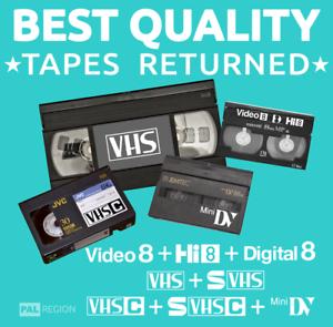 VIDEO-TAPE-TO-DVD-MP4-DOWNLOAD-TRANSFER-CONVERT-VHS-MINIDV-Hi-8-Digital8