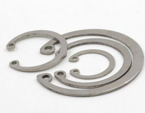 Details about  /Retaining Ring Select 8mm 180mm Internal Circlip Snap Ring 304 Stainless Steel