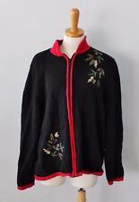 Ugly Christmas Sweater Women 2XL xxl Men XL jumper Tree 2 side Breckenridge CS21