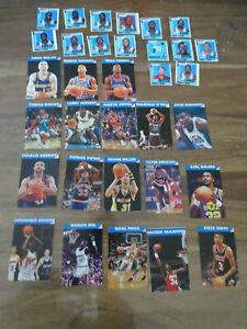 LOT 18 CARTES STICKERS NBA BASKETBALL JOURNAL MICKEY BARKLEY PIPPEN O'NEAL