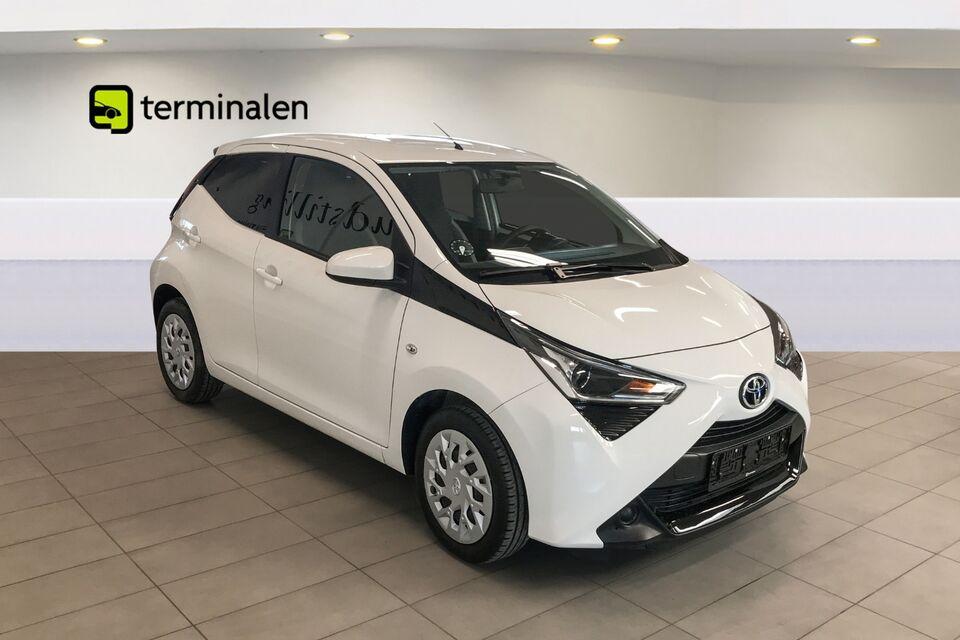 Toyota Aygo 1,0 VVT-i x-pression Benzin modelår 2019 km