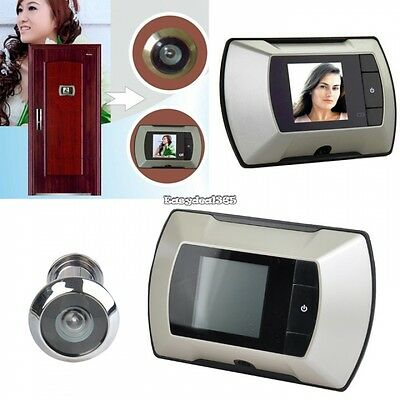 6.1cm Digital Puerta Mirilla HD LCD Cámara Visor color TFT pantalla ED