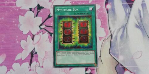 YUGIOH! Common Auflage! 1 Near Mint Mystische Box SDMY-DE028