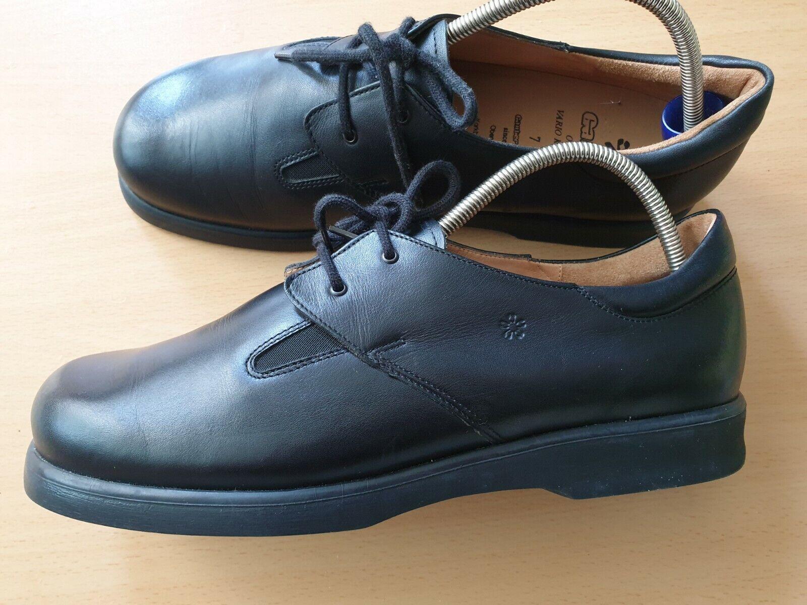 Gabor Sandaletten blau echt Leder Vario Schuhweite G