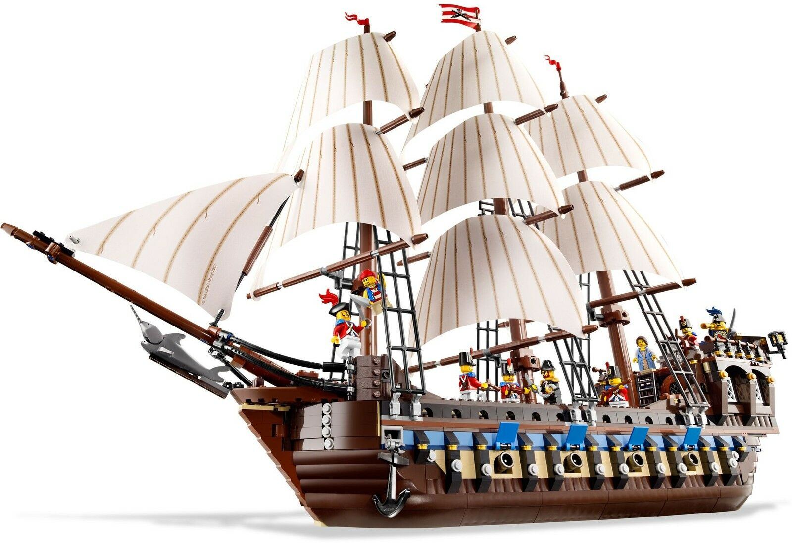 BRAND NEW Lego PIRATES 10210 IMPERIAL FLAGSHIP