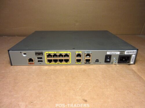 1 von 1 - CISCO 1812 V06 CISCO1812-J/K9 Dual Ethernet Security Router with ISDN